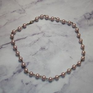 """Jewelry - Vintage Pinup Style Faux Pearl Choker Necklace 16"""""""